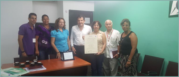 Mission in CUBA and best pratices : research and technological innovation .