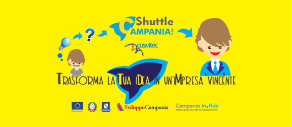 Parte Shuttle Campania in hub