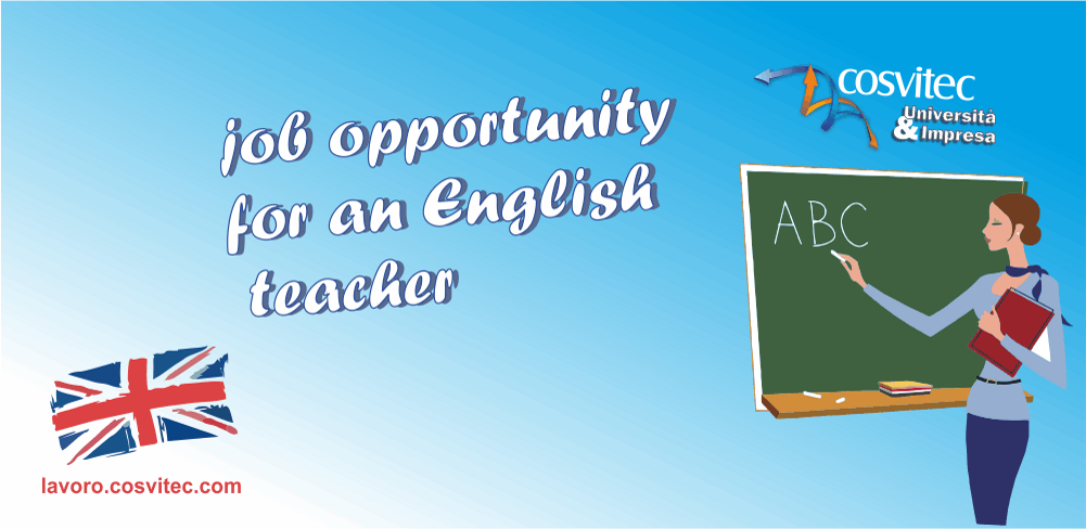 english teacher cosvitec ricerca job opportunity c