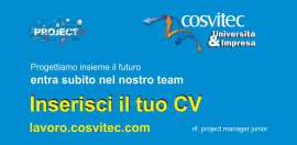 Ricerca Project Manager Junior